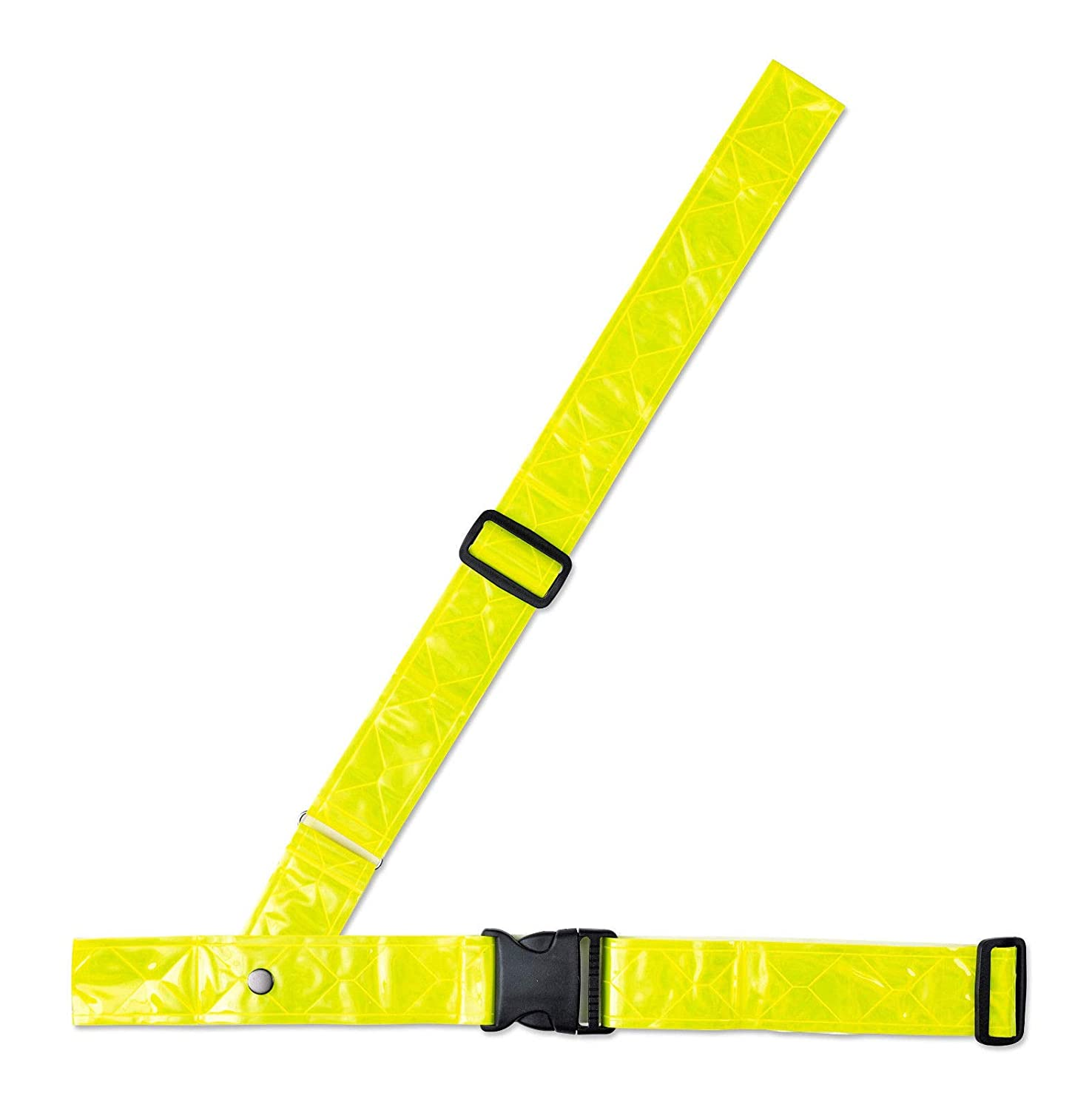 Adie Sam Brown Reflective Belt Yellow Bike Cycling Safety High Visibility
