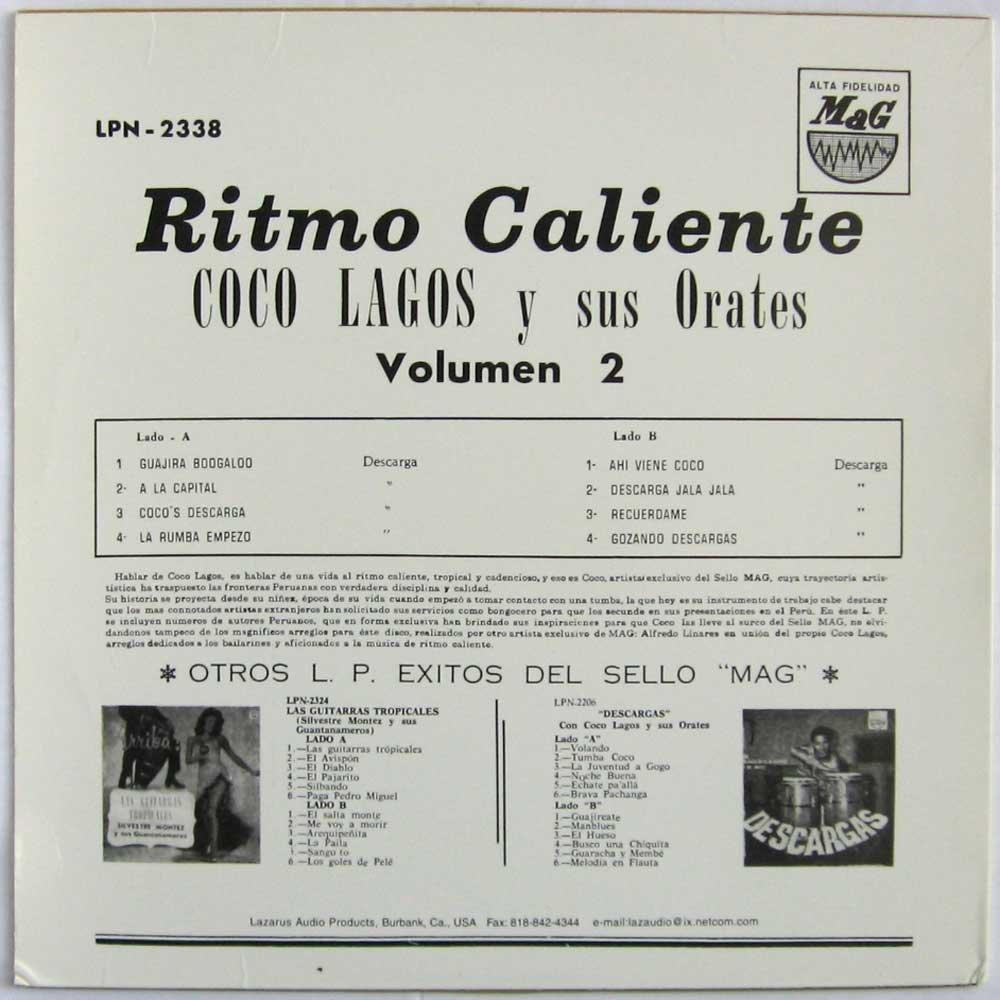 Ritmo Caliente : Coco Lagos Y Sus Orates: Amazon.es: Música