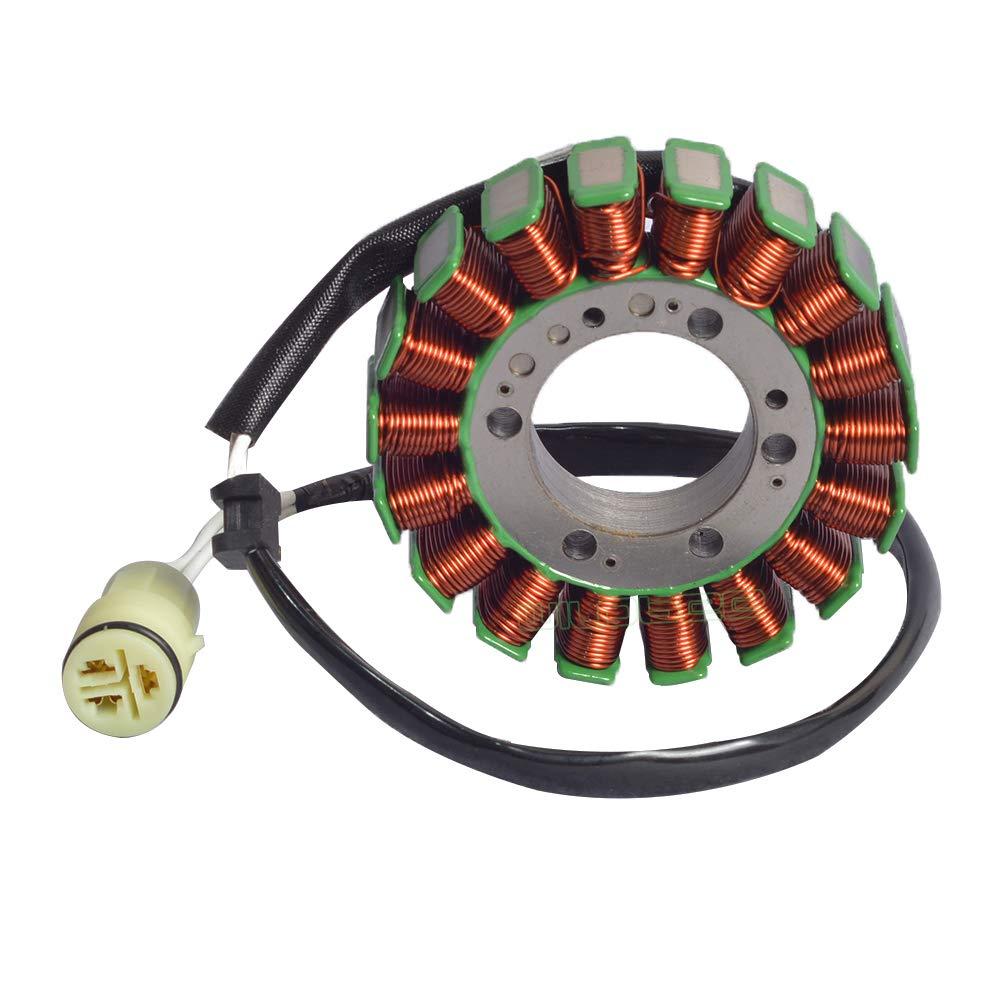 WildBee Engine Stator Coil Magneto for Kawasaki 21003-0001 ZX-6RR Ninja 600 2003-2004,ZX-6R ZX636 Ninja 636 2003-2004