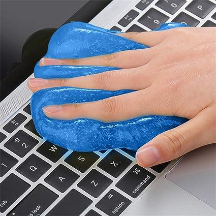 Limpia el pegamento mágico de limpieza del teclado del ...
