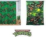 "Teenage Mutant Ninja Turtles ""Heroes in a Half Shell"" • Bath Towel + Shower Curtain SET"