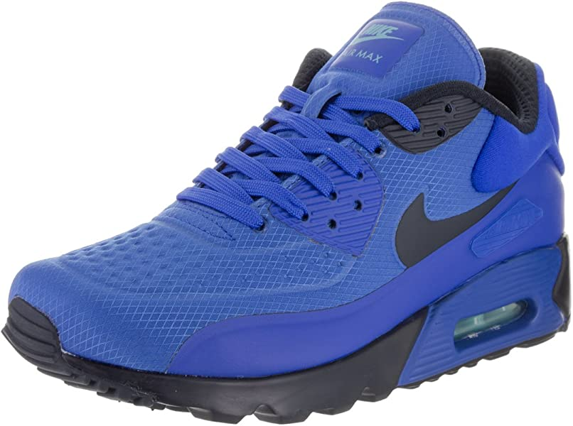 huge discount dacb6 c0858 Nike Mens Air Max 90 Ultra SE Hyper Cobalt Dark Obsidian Running Shoe 11.5  Men