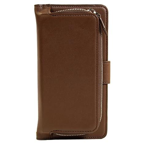 34125a67a6 オウルテック iPhone6s/6 4.7インチ コインケース付き 手帳型ケース カードポケット付き ブラウン