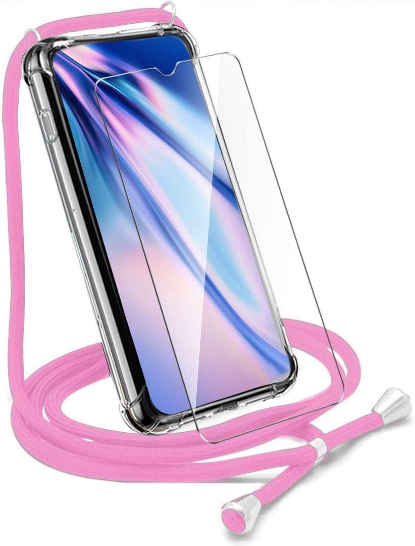 HYMY Funda + Cristal Templado para LG K50: Amazon.es: Electrónica