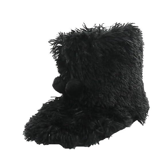 Amazon.com | Home Slipper Women's Soft Fleece Plush Warm Indoor House  Slipper Boots Shoes | Slippers