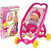 Candy Girl Baby Stroller Suitable For 14 Inch Dolls