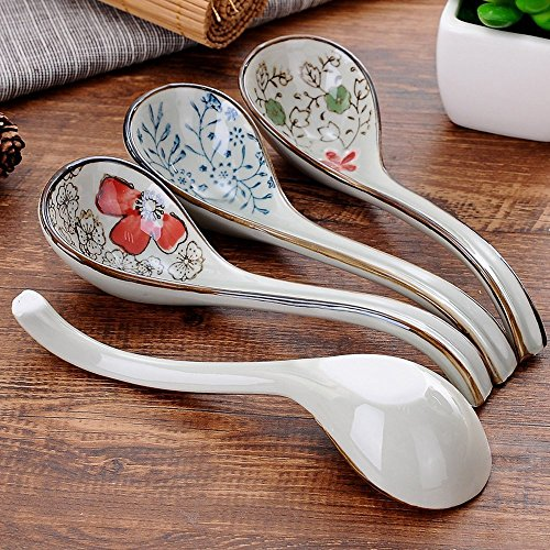 XDOBO Long handle Hook Spoon Soup Spoon Hand-crafted Tableware by xdobo (Image #1)
