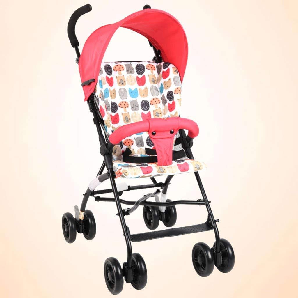 赤ちゃんのプッシャー子供のトロリー超軽量ポータブル赤ちゃんの傘折りたたみ可能なサスペンション冬と夏  3# B07SDLV3VV