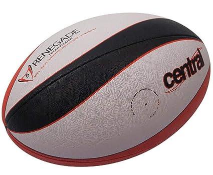 Central Balón de Rugby de 5 Paneles, sin Cordones, tamaño 5 ...