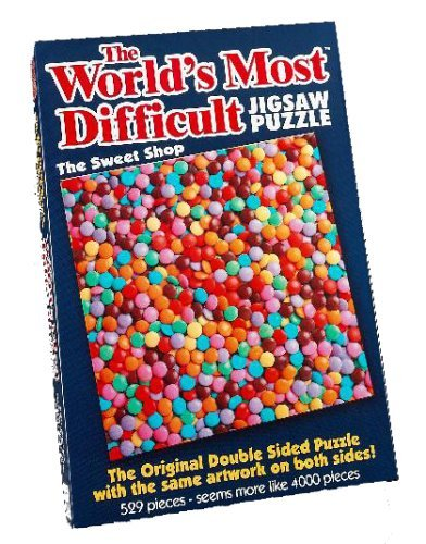 The World's Most Difficult Jigsaw Puzzle, The Sweet Shop, 529pc by Paul Lamond Games