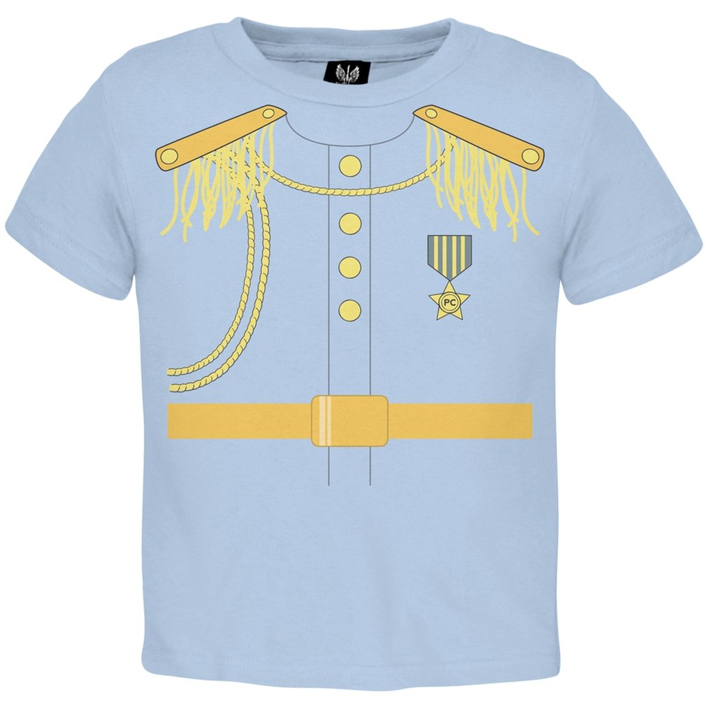 Halloween Prince Charming Light Blue Toddler T-Shirt Tee's Plus