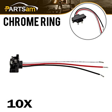Incredible Amazon Com Partsam 3 Prong Pigtail Wire Plugs For Truck Trailer Wiring Database Lotapmagn4X4Andersnl