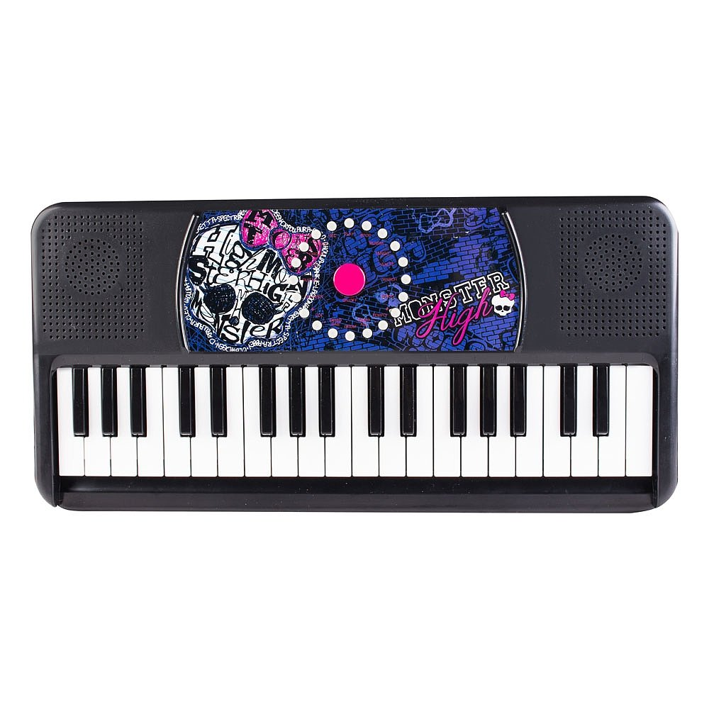 Monster High Electric Keyboard, Black by Monster High