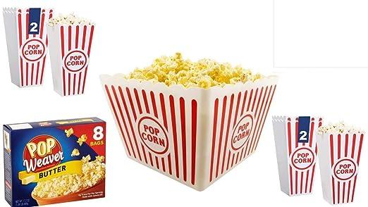 Recipiente para palomitas popcorn bucket - plástico (6 ...