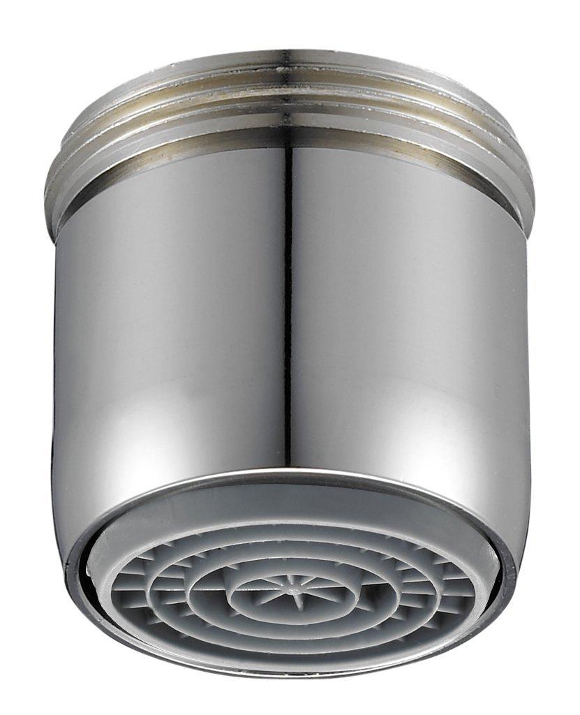 Perlator SLC 11001398 Pommeau de douche économiseur d'eau avec jet à pression réduite M22xM24 Chromé PER143572