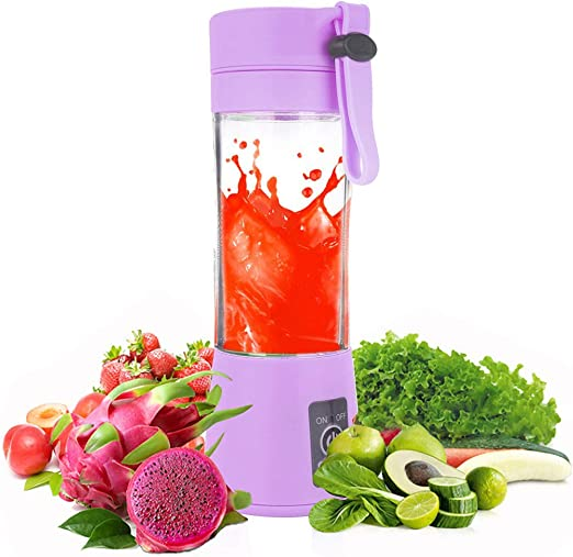 380ml Mini-USB Juicer Cup Handheld Fruit Smoothie Maker Portable-Rechargeable