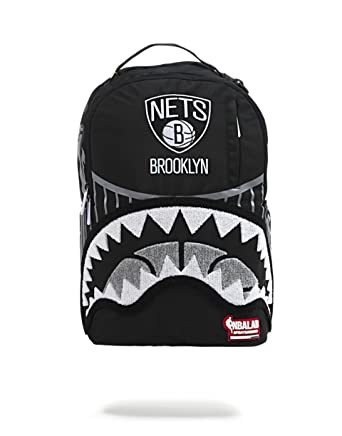 ad31faccc67 Amazon.com  NBA LAB X Sprayground Brooklyn Nets Bridge Backpack ...