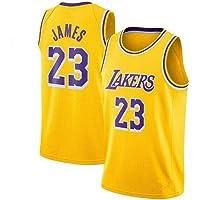 Zxwzzz Uniforme Los Angeles Lakers No.23 Baloncesto, Lebron James Summer Sports NBA Jersey, Adulto Y Uniformes De…