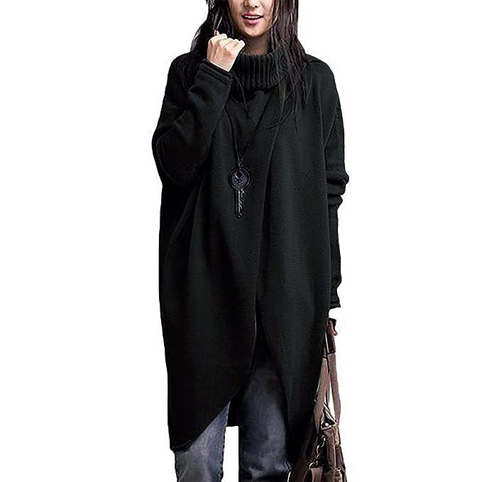 chaquetas de punto Sannysis mujeres irregular de mantón kimono cardigan tops cubre para arriba la blusa