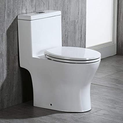 Woodbridge T 0032 Modern Design One Piece Dual Flush 1016 Gpf