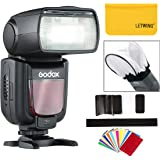 GODOX TT600 カメラフラッシュ 内蔵2.4G ワイヤレストリガ・システム 1/8000S高速シンクロ Canon, Nikon, Pentax, Olympus その他のデジタルカメラ用。