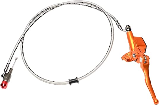 120CM 7//8/'/' Aluminum Motorcycle Hydraulic Brake Clutch Lever Master Cylinder New