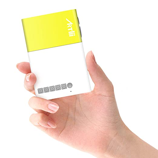 20 opinioni per Mini Proiettore, Artlii Proiettore Portatile videoproiettore iPhone per