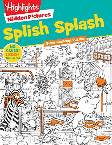 Pictures Hidden Sticker - Splish Splash (HighlightsTM  Super Challenge Hidden Pictures®)