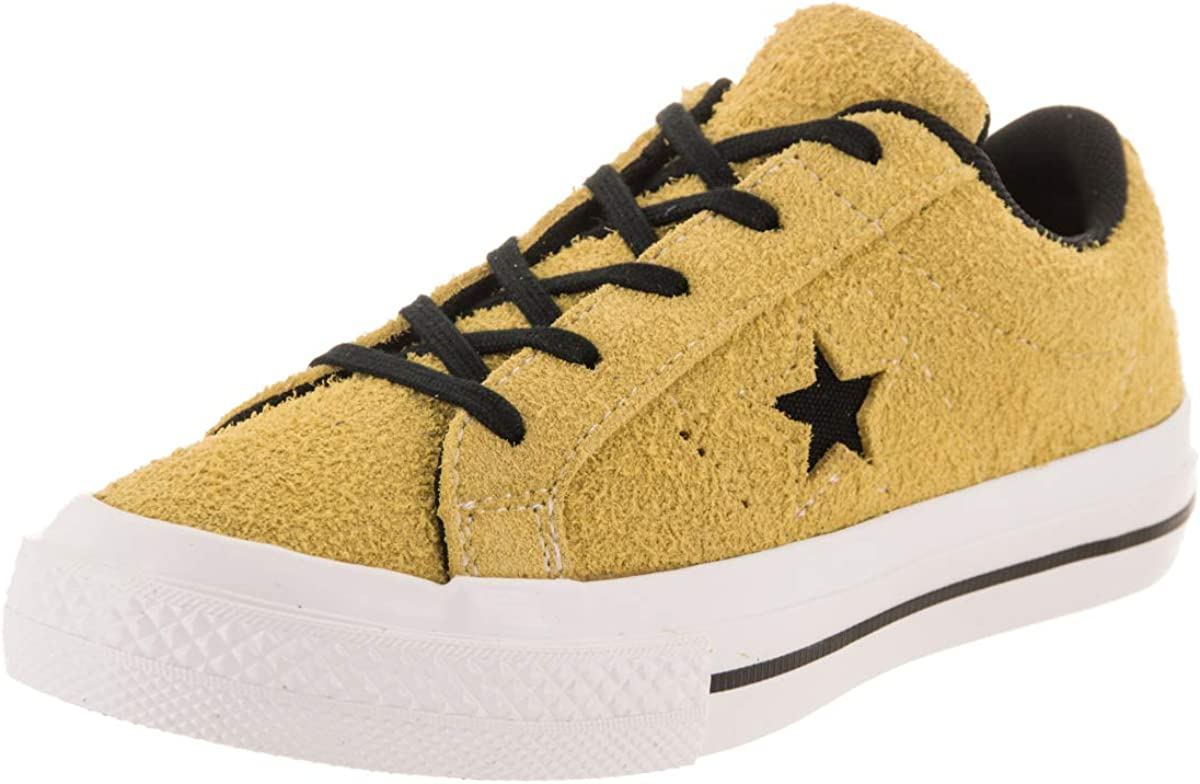 Converse Kids One Star Ox Bold CitronBlackWhite Casual