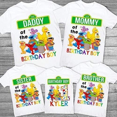 Amazon Sesame Street Mommy Shirt Sesame Street Daddy Shirt