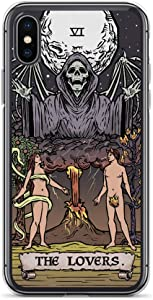 The Lovers Tarot Card Phone Case iPhone XR - Grim Reaper (iPhone XR)