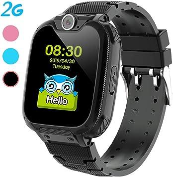 Smartwatch para niños, Pantalla táctil, Reloj Inteligente con ...