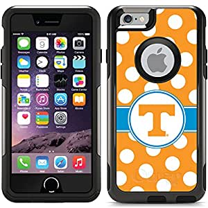 Coveroo University of Tennessee Polka Dots Design Phone Case for iPhone 6 - Retail Packaging - Black