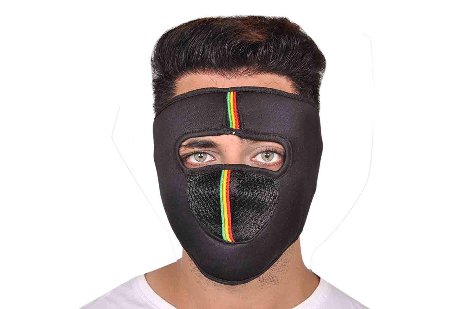 Rediant AIR00CT47 Bike Riders Mask (Multicolour)