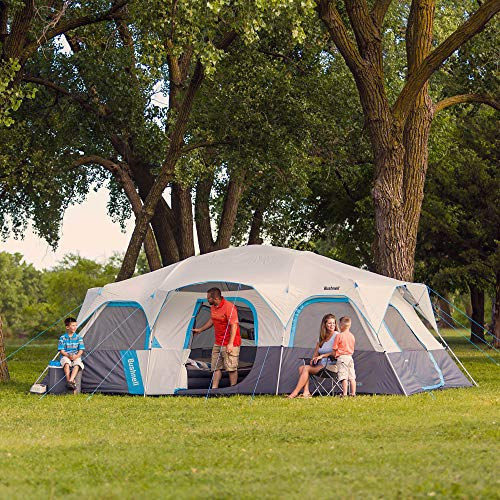 Bushnell Sport Series 12 Person Cabin Tent – 20ftx10ft