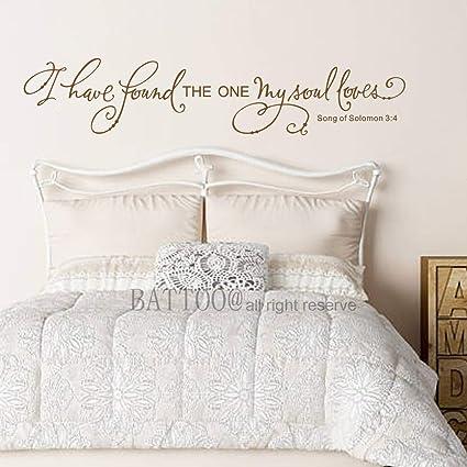 Amazon Com Battoo Romantic Wall Decor Bedroom Wall Decor I