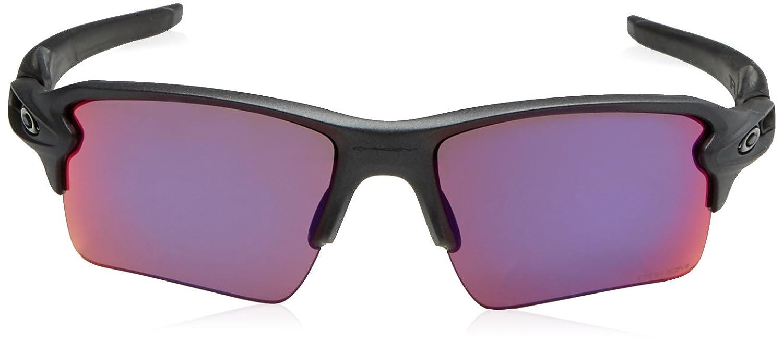 c56a1b94b8 Oakley Mens Flak 2.0 Road XL Flak – Gafas 2.0 de sol Steel W/Prizm