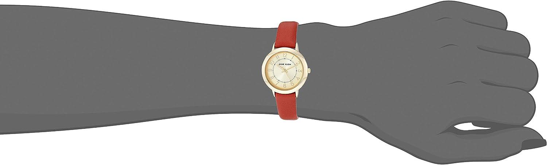 Anne Klein Dress Watch (Model: AK/3154BHBH) Brown/Gold