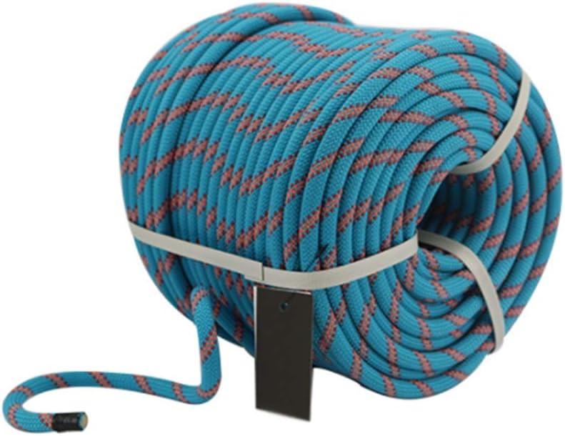 LIINA ロープ 家庭用バンドル編組ロープ、9.8ミリメートルマルチカラー - 10 M / 20 M / 30 M / 50 M(カスタムサイズ)耐摩耗ソフト容易ではないが高張力をスライドさせ (Size : 30m)  30m