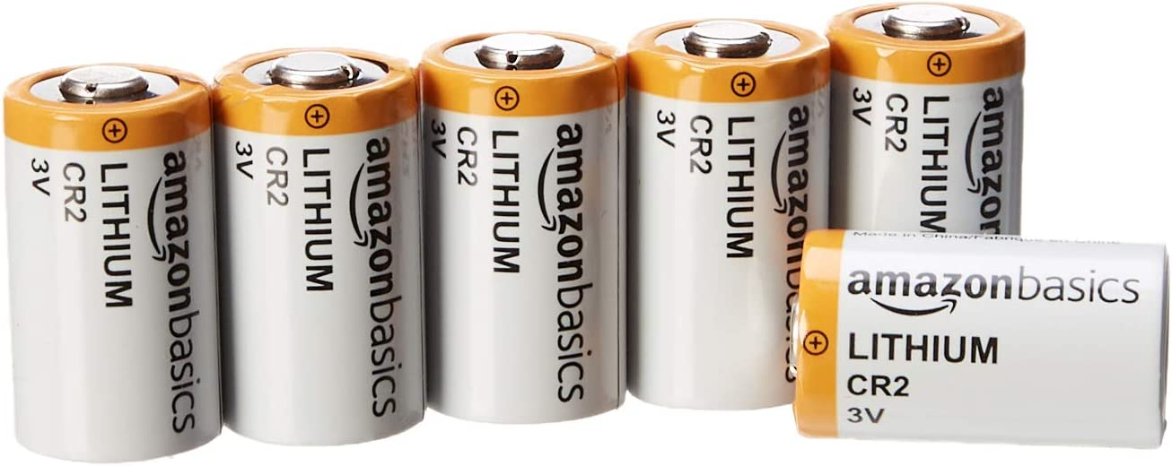 AmazonBasics Lithium CR2 3V Batteries - 6-Pack