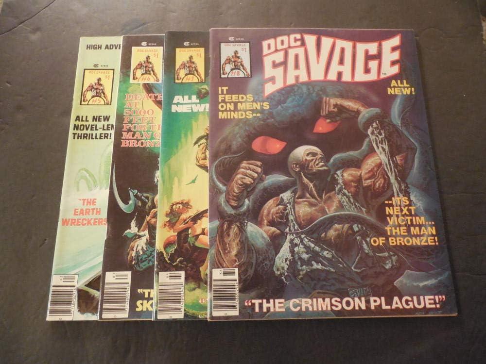 "DOC SAVAGE 1976 Pig DARTS Chess = POSTER Comic Book Artwork 8 SIZES 17/"" 3 FEET"