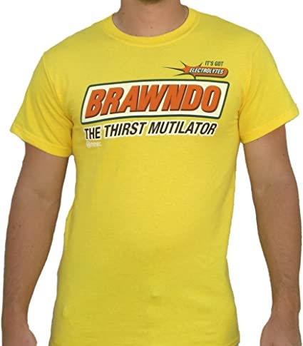 brawndo la Durst mutilator IDIO cracy Camiseta de tipos ...