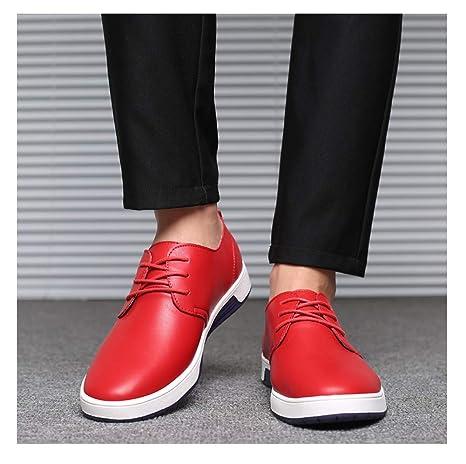 TAZAN Zapatos De Cuero Hombre Oxford Con Cordones Brogue Vestir ...