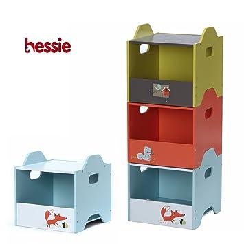 Etonnant Hessie Wooden 3 Layer Stackable Toy Box / Storage / Organizer, Kids Room /
