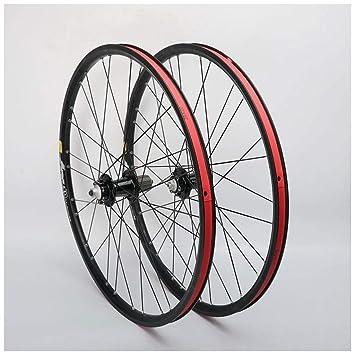 ZNND Llanta para Bicicleta De Montaña,26 Pulgadas Ciclismo Wheels Agujeros con Doble Pared MTB
