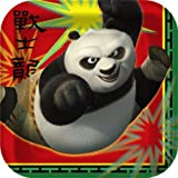 Kung Fu Panda 2 - Square Dessert Plates - 8 Kung Fu Panda Party Plates