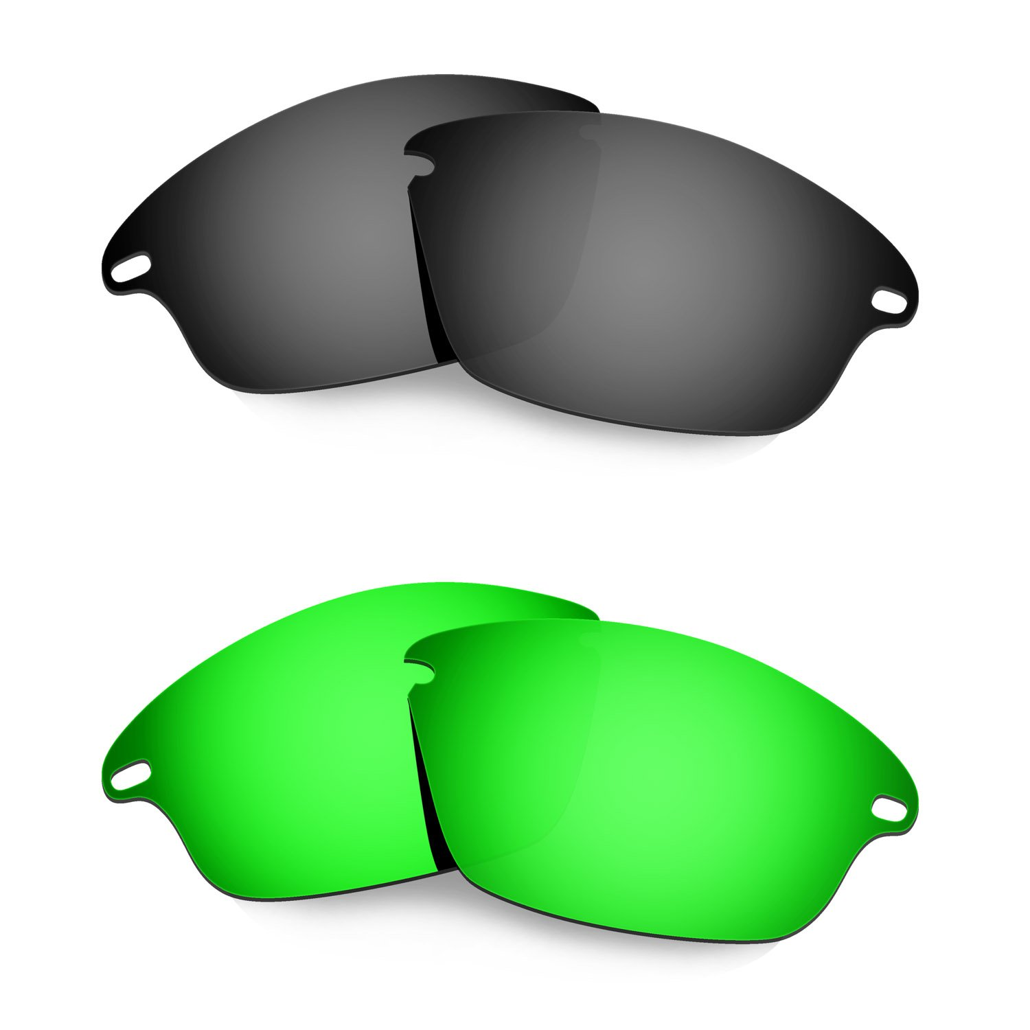 HKUCO Plus Mens Replacement Lenses For Oakley Fast Jacket - 1 pair aNyNUx6TSt