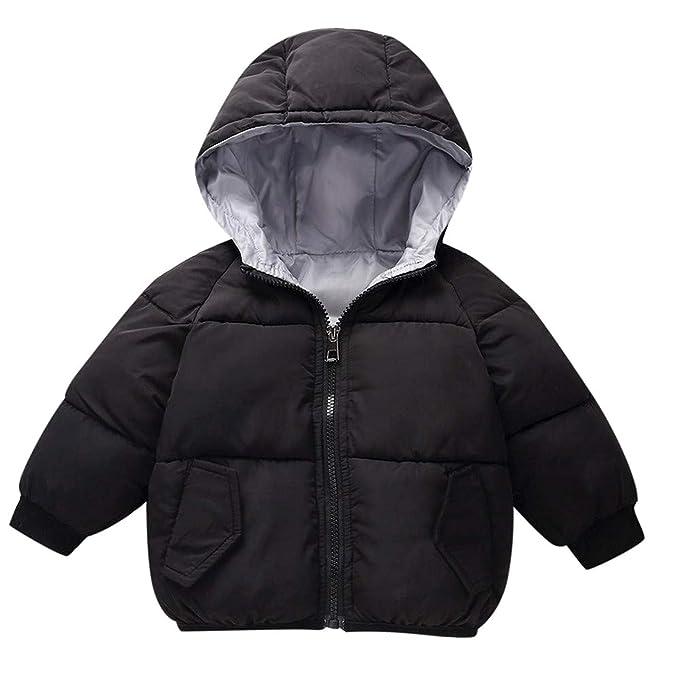 96c822364 Amazon.com  Baby-Girl-Boys Winter Hooded Coat Cloak Jacket Thick ...