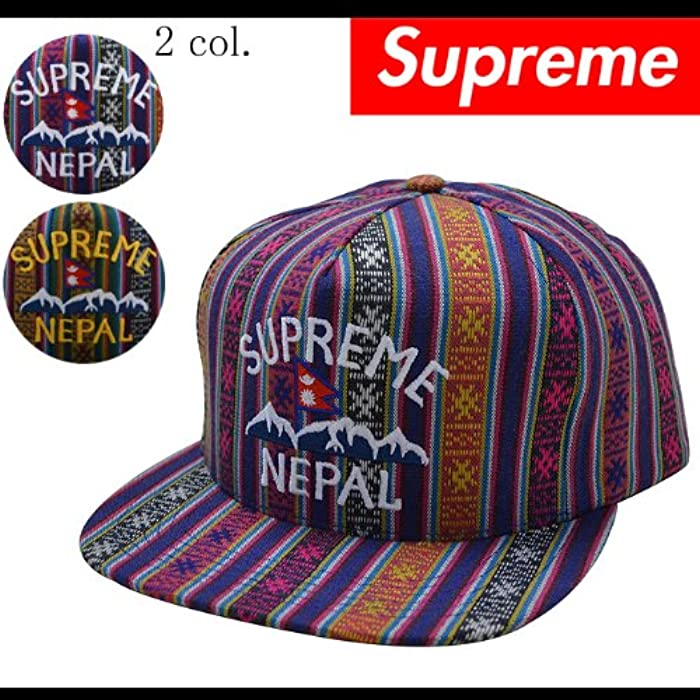 15439357e7d (シュプリーム) SUPREME NEPAL 5-PANEL スナップバック キャップ 帽子 (並行輸入品)