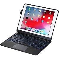 iPad Keyboard Case for iPad 2018 (6th Gen) - iPad 2017 (5th Gen) - iPad Pro 9.7 - iPad Air 2&1-360 Rotatable - Wireless…